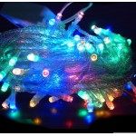 10 Metre 100 Ledli 8 Fonksiyonlu Karışık Renkli RGB Led Lamba