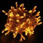 100 Ledli 8 Fonksiyonlu Dekor Lambası (10m SARI)