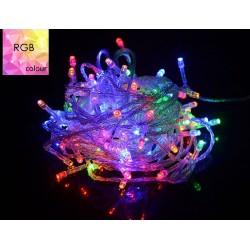 100 Ledli 8 Fonksiyonlu Karışık Renkli Led Dekor Lambası
