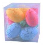 10'lu Renkli Yumurta Şeklinde Dekoratif Dolama Led Aydınlatma
