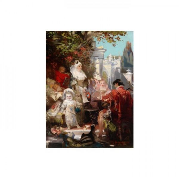 19th Century Paintings Kanvas Tablo 50X70 Cm
