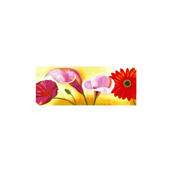 A Riot Of Flowers Kanvas Tablo 40X120 Cm