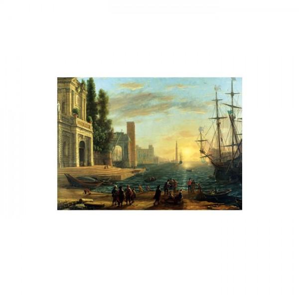 A Seaport 50x70 cm