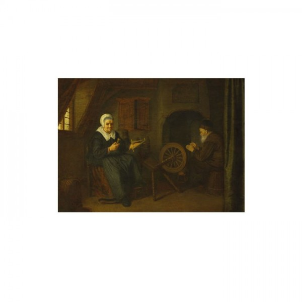 Abraham de Pape - Tobit and Anna 50x70 cm