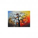 Abstrackt Tree-2 Kanvas Tablo 50X70 Cm