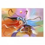 Abstract 95x70 cm Kanvas Tablo