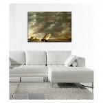 Aelbert Cuyp - The Maas at Dordrecht in a Storm 50x70 cm