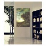 Aert Van Der Neer - A Landscape with a River at Evening 50x70 cm