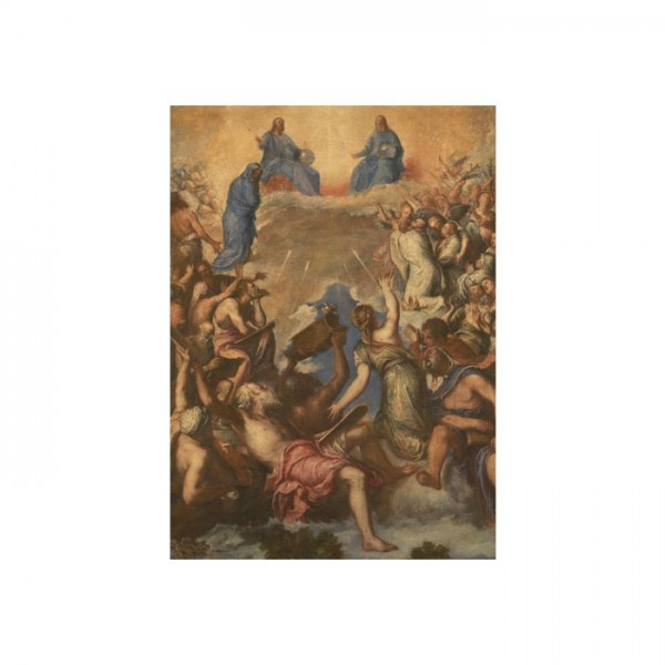 After Titian - The Trinity (La Gloria) 50x70 cm