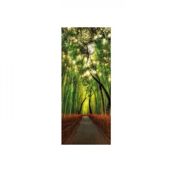 Ağaçlı Yol Buzdolabı Sticker