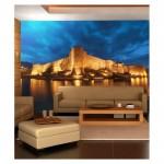 Alanya Kalesi 178x126 cm Duvar Resmi