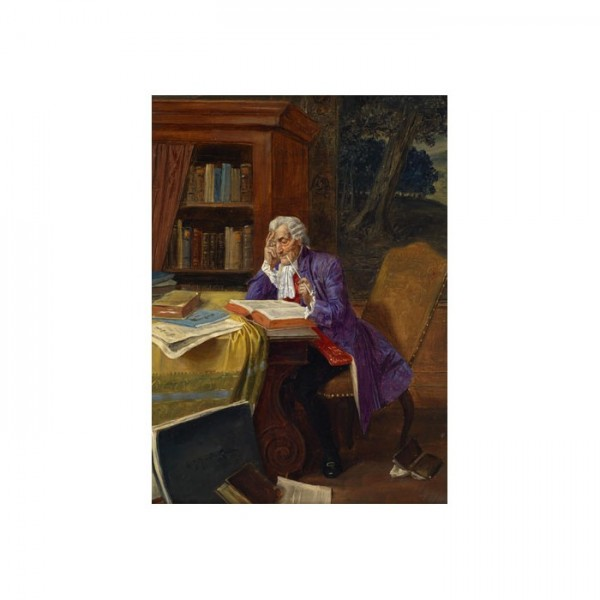 Albert Joseph Franke Kanvas Tablo 50X70 Cm
