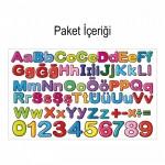 Alfabe 191x96 cm Duvar Sticker