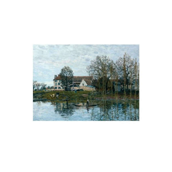 Alfred Sisley - The Seine at Port-Marly 50x70 cm