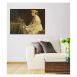 Alfred Stevens - The Present 50x70 cm