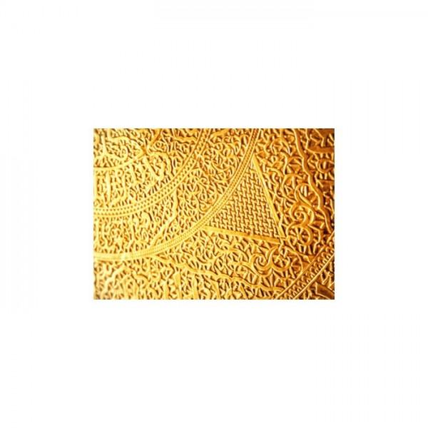 Altın İşlemeleri Notebook Sticker