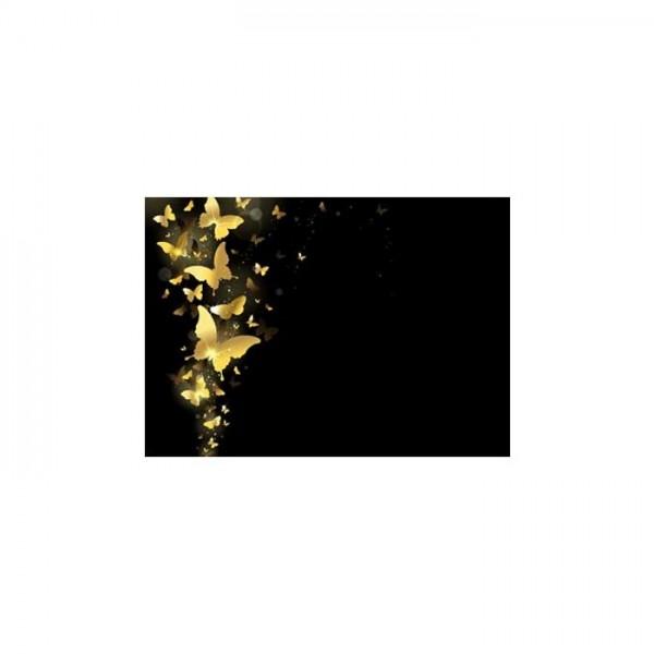 Altın Kelebekler Notebook Sticker