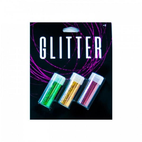 Altın & Yeşil & Bakır Glitter