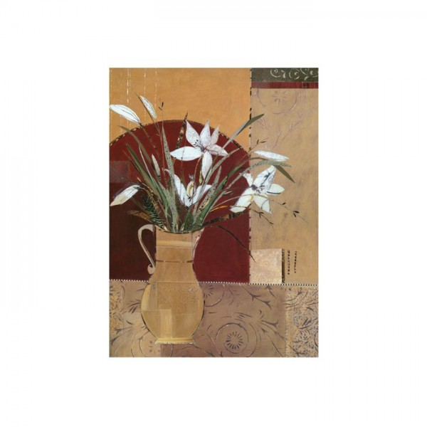 American Flower Kanvas Tablo 50X70 Cm