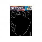 Amour Kadife Duvar Sticker 105,6X77,8