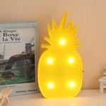 Ananas Şeklinde Ledli Dekoratif Eğlenceli Çocuk Gece Lambası