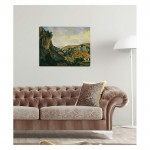 André Derain - Valley of the Lot at Vers 50x70 cm