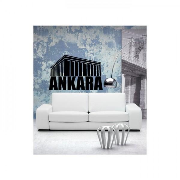Ankara Kadife Duvar Sticker 92X60 Cm