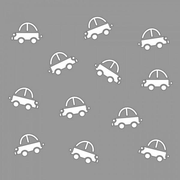 Arabalar Stencil Tasarımı 30 x 30 cm