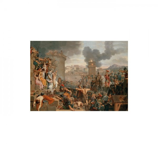 Armand-Charles Caraffe - Metellus Raising the Siege 50x70 cm