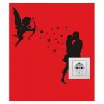 Aşk Priz Sticker