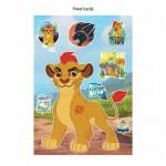 Aslan Koruyucular 35x50 cm Duvar Sticker