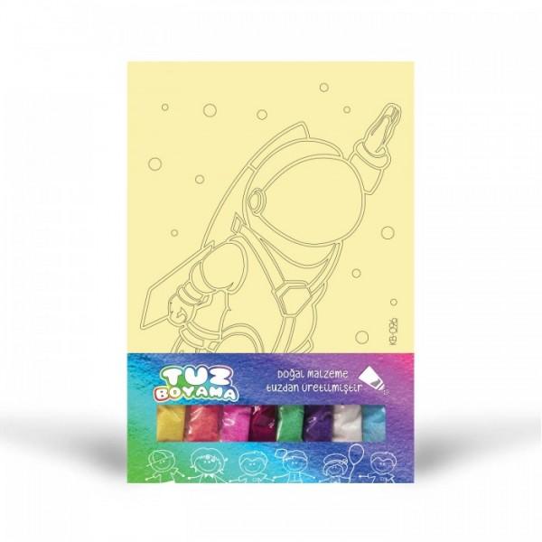 Astronot-1 Tuz Boyama
