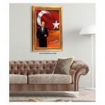 Atatürk-10 Kanvas Tablo 50X70 Cm