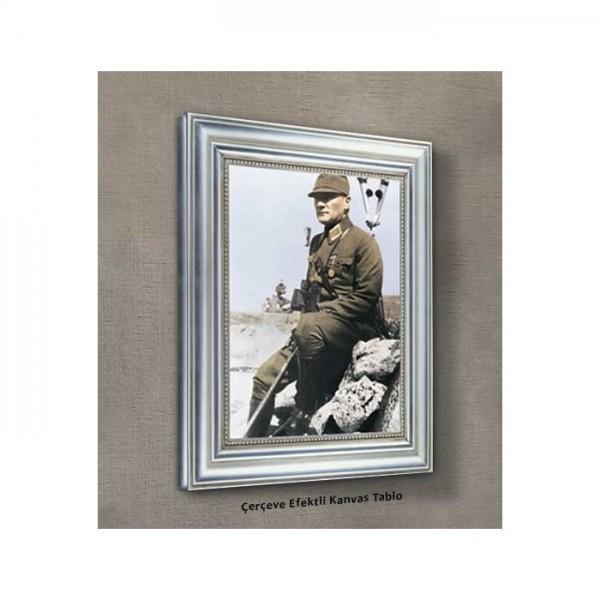 Atatürk-11 Kanvas Tablo 50X70 Cm
