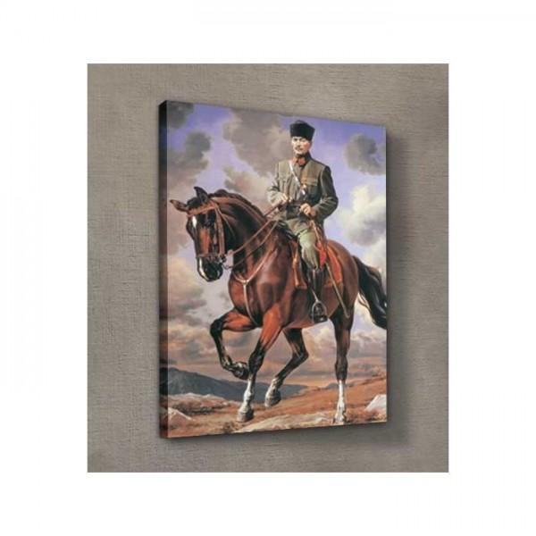 Atatürk-13 Kanvas Tablo 50X70 Cm