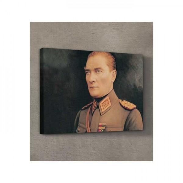 Atatürk-16 Kanvas Tablo 50X70 Cm