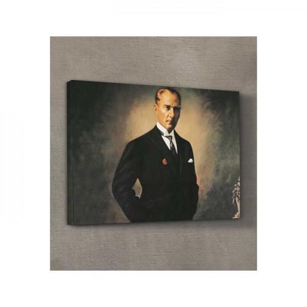 Atatürk-18 Kanvas Tablo 50X70 Cm