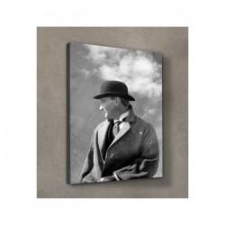 Atatürk-19 Kanvas Tablo 50X70 Cm