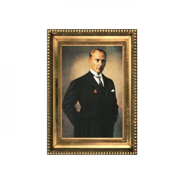 Atatürk-20 Kanvas Tablo 50X70 Cm