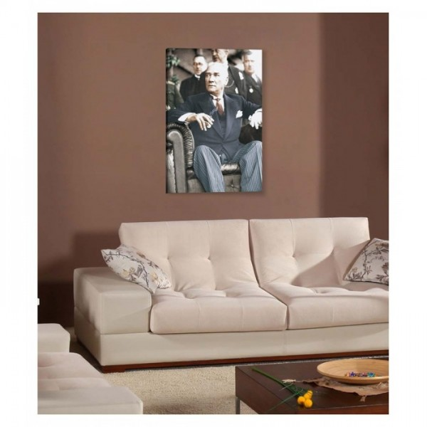 Atatürk-21 Kanvas Tablo 50X70 Cm