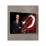 Atatürk-26 Kanvas Tablo 50X70 Cm