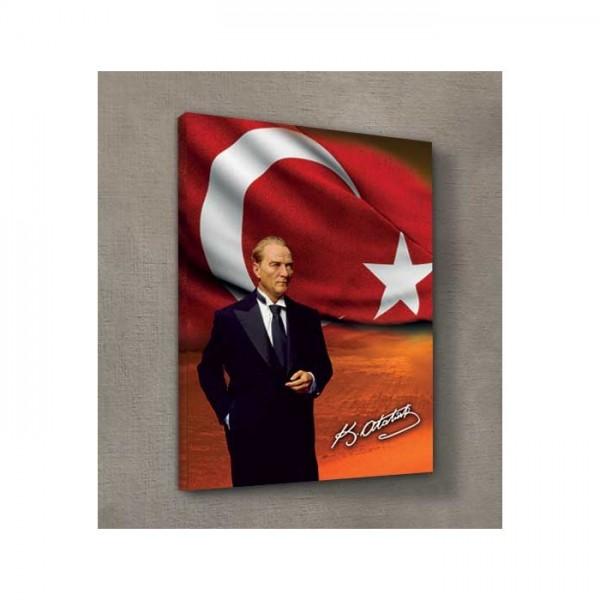 Atatürk-3 Kanvas Tablo 50X70 Cm