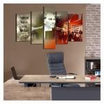 Atatürk-30 Kanvas Tablo 135x85 cm