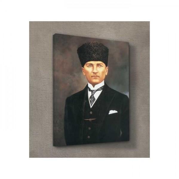 Atatürk-6 Kanvas Tablo 50X70 Cm