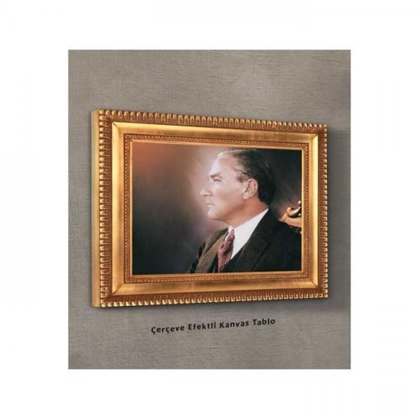 Atatürk-7 Kanvas Tablo 50X70 Cm