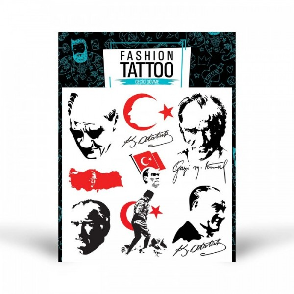 Atatürk Dövme 15,5x16 cm