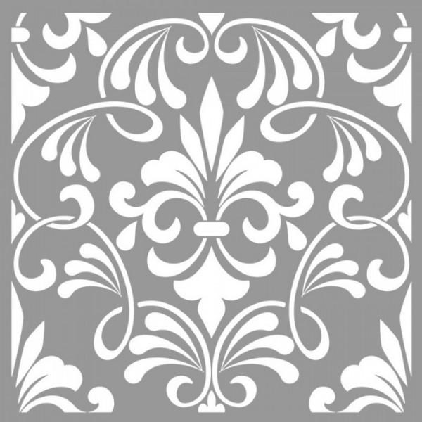Aubrey Stencil Tasarımı 30 x 30 cm