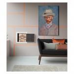 Autorretrato Con Sombrero de Fieltro Gris 50x70