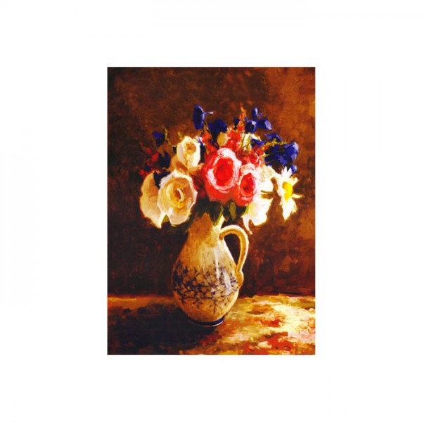 Autumn Flowers Kanvas Tablo 50X70 Cm