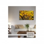 Autumn Yellow Kanvas Tablo 60X90 Cm